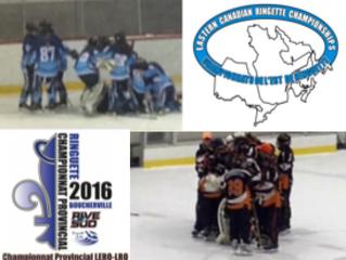 Deux-Montagnes U14A passe au Championnat de l'Est, Laurentides U16AA passe à la demi-finale provinci