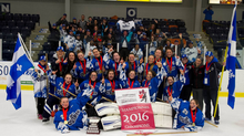 Championnes canadiennes avec un fiche parfaite