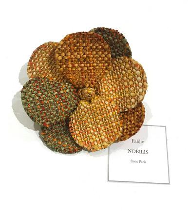 Reborn / tweed corsage