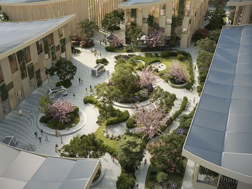 Woven City: Toyota's hydrogen-powered future smart city