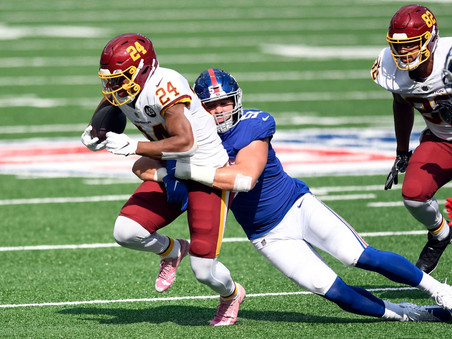 TNF Preview: Giants @ WFT