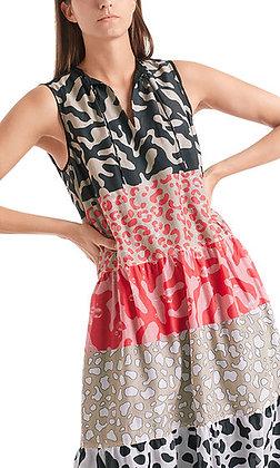 MARC CAIN Kleid aus Baumwolle und Seide