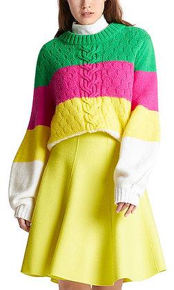 MARC CAIN Pulli mit Colourblocking