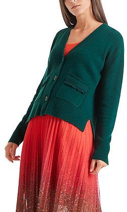 MARC CAIN Strickjacke aus Wolle und Kaschmir