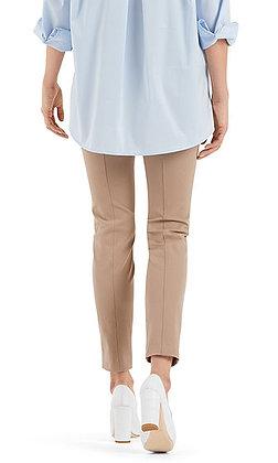 MARC CAIN High Waist-Hose aus Baumwollmix