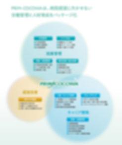 プライアルメディカルシステム株式会 PRIM-COCOWA ラインナップ