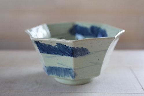 Blue Cloud Ceramic Bowl
