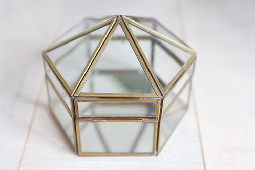 HERITAGE HEXAGON GLASS BOX