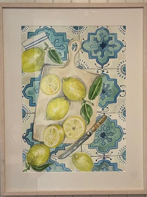 lemons and tiles