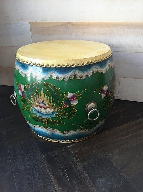 Green Lotus Drum