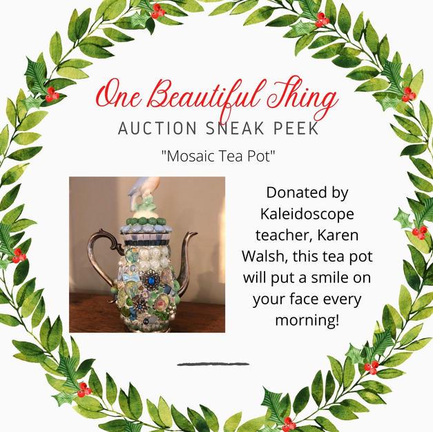 Mosaic Tea Pot
