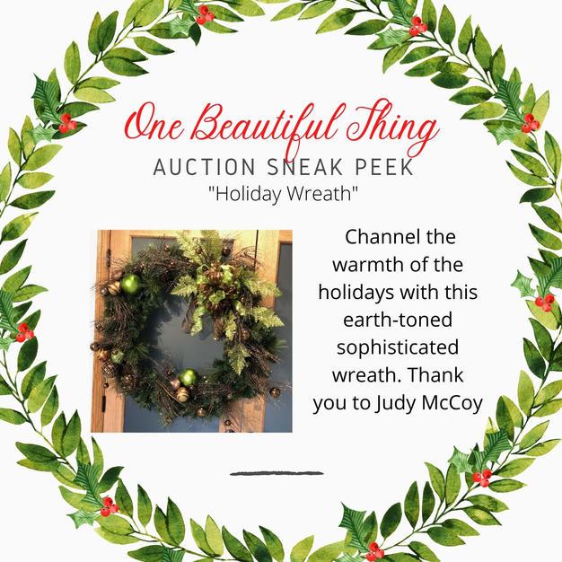 """Holiday Wreath"""