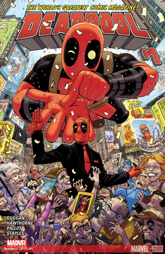 Deadpool (Marvel, 2015)