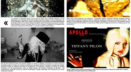 Tiffany Pilon - Distorted Paintings