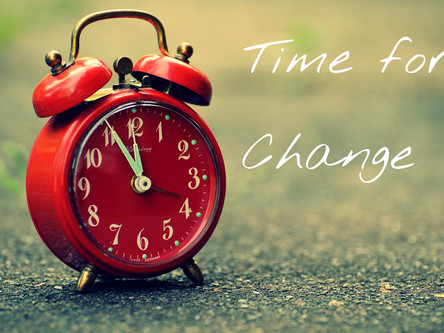 Groundhog Day...Time to Make a Change