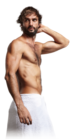 stock-photo-man-in-a-towel-touching-his-