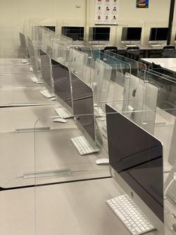 Custom Acrylic Desk Guards