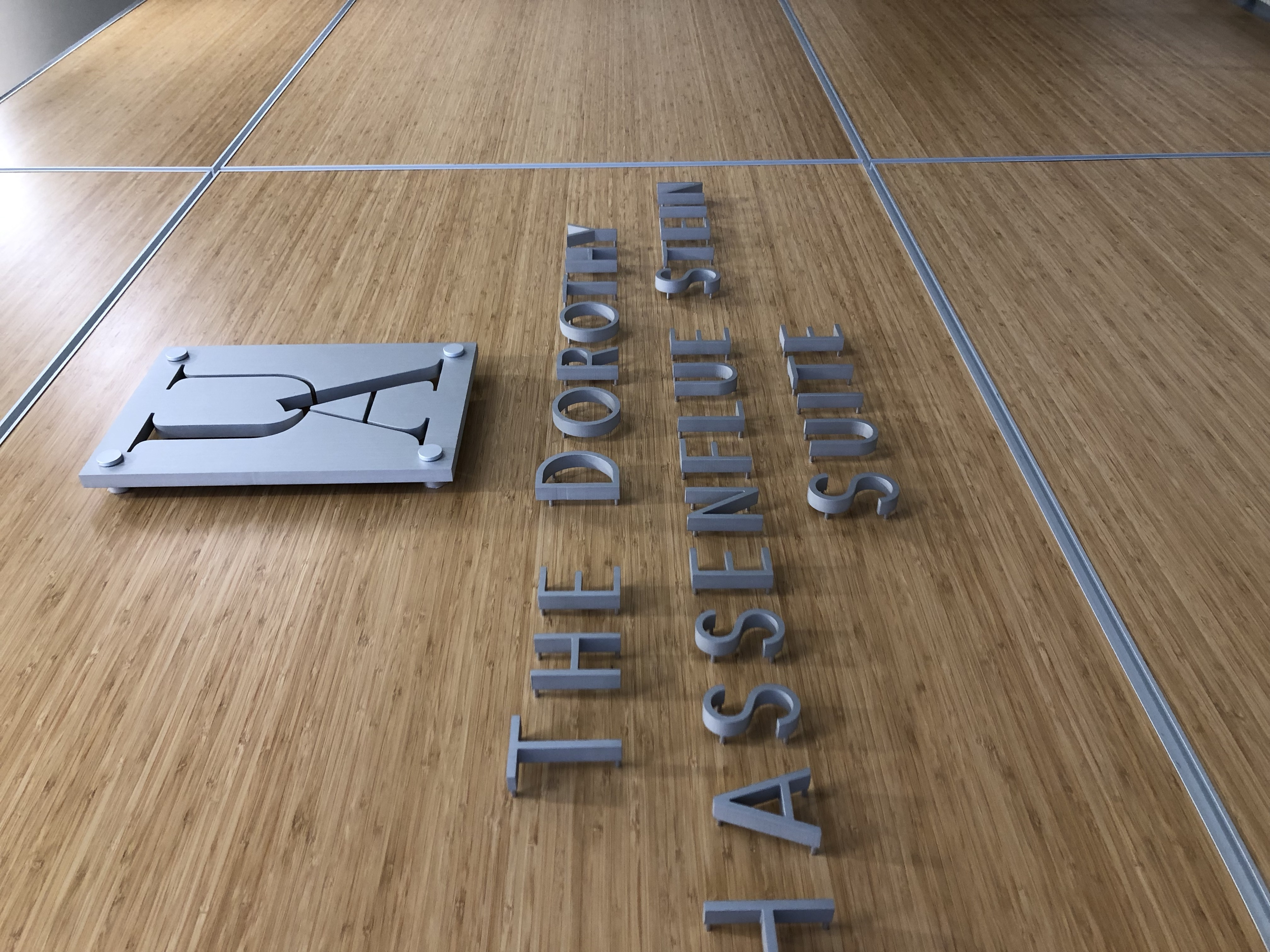 Cut Metal Logo Displays