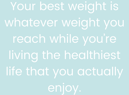 What's Your Best Weight?