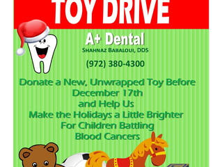 Carrollton Dental Office Hosting Toy Drive