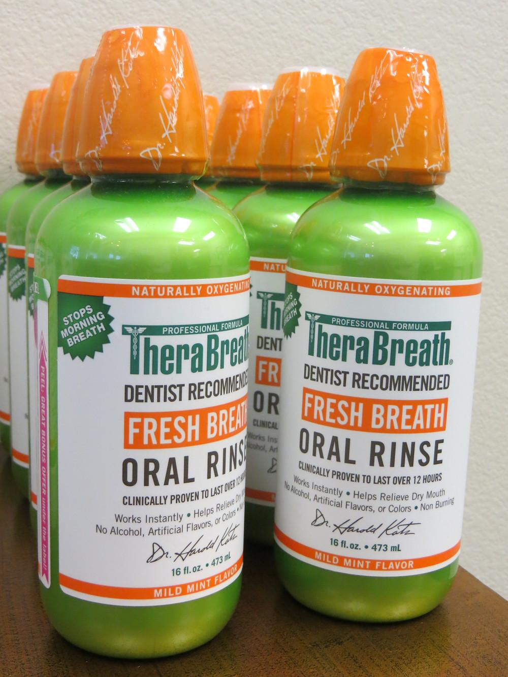 bad breath rinse