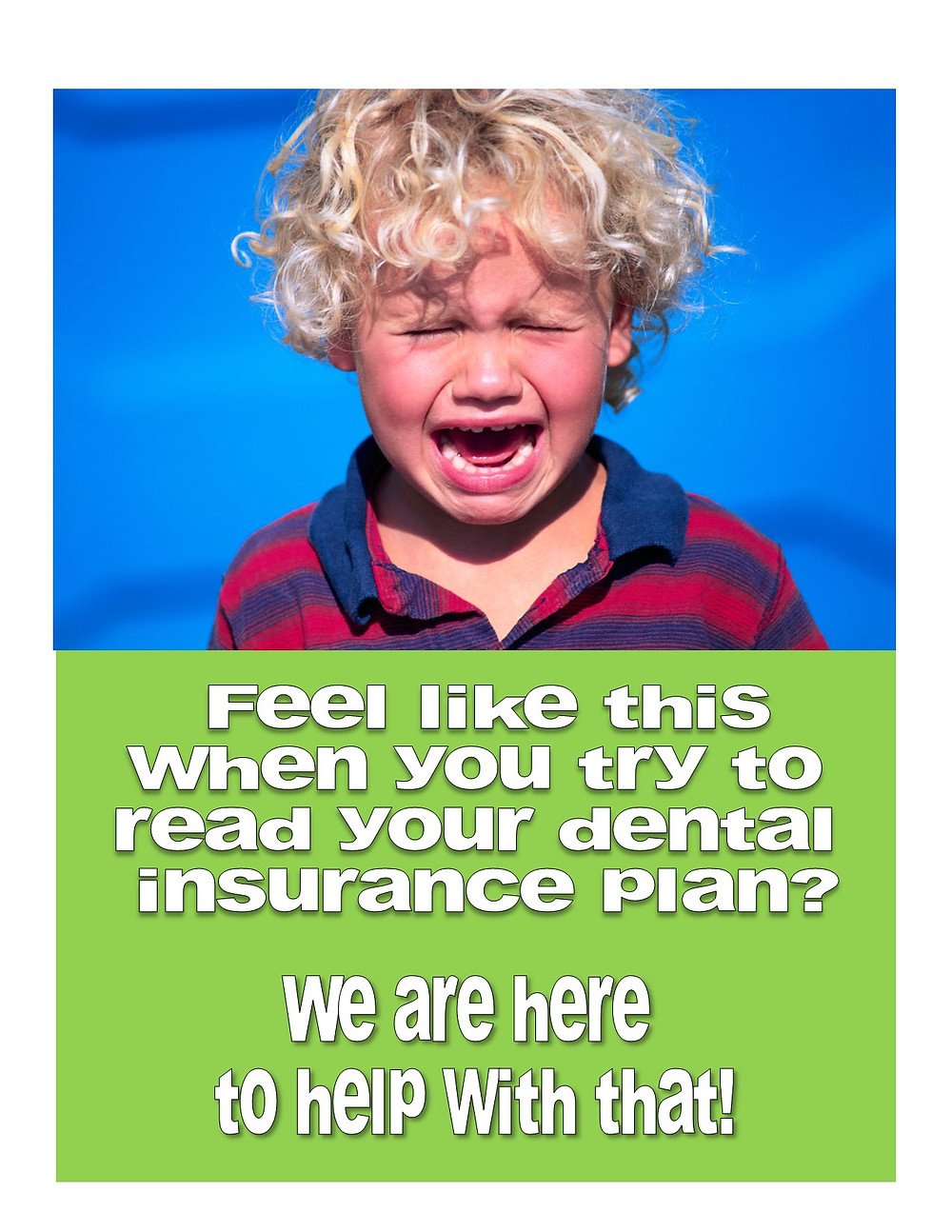 help understanding your dental plan