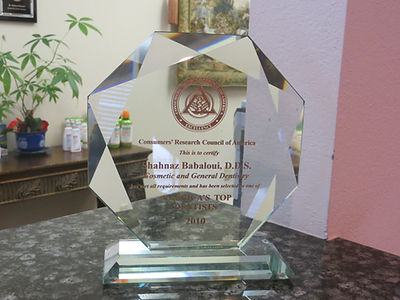 awards and recognition for your Carrollton dentist
