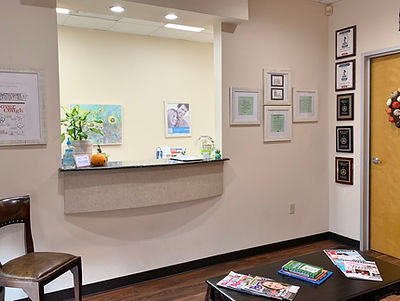friendly and welcomng dental office