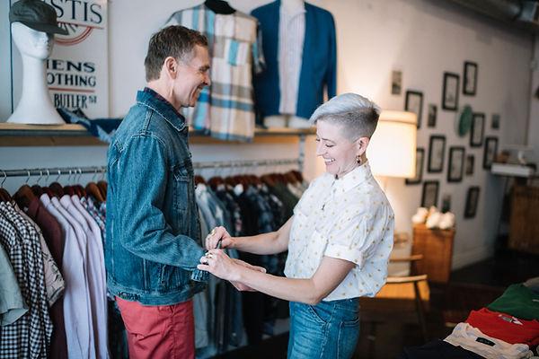 Rachel & Randy casual clothes horiz low