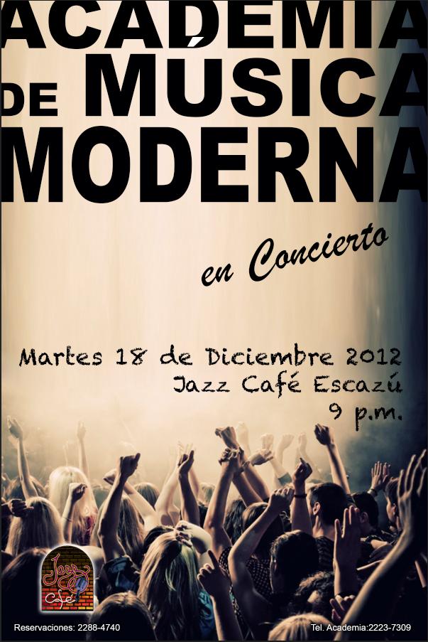 Afiche Conc. Dic.. 2012