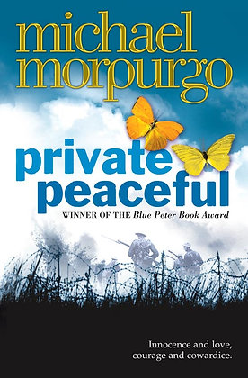 PRIVATE PEACEFUL BOOK (P&P free in UK)