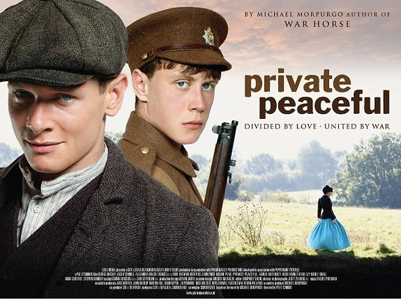 PRIVATE PEACEFUL POSTER (P&P free in UK)