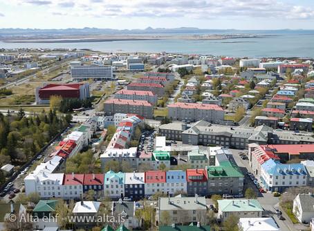 Hvað þýðir þétt byggð?