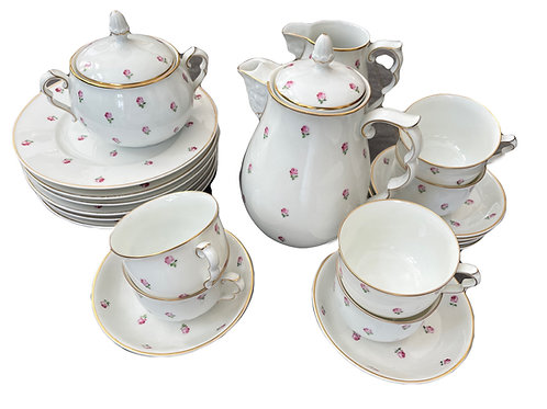Augarten Porzellan Kaffeeservice für 6 Personen