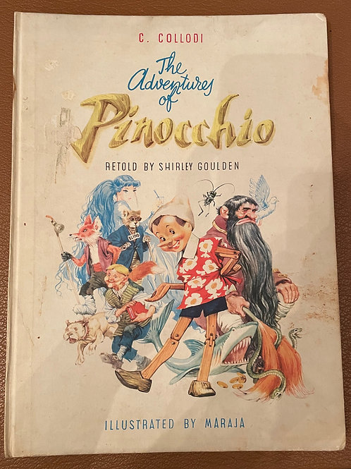 The Adventures of Pinocchio Shirley Goulden