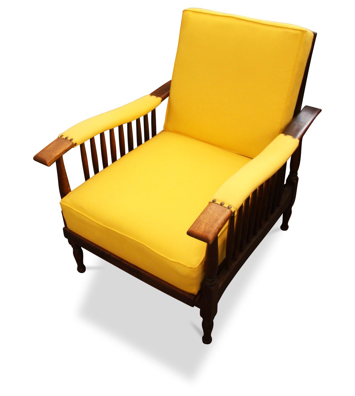 Gelber Kanadier Sessel um 1930