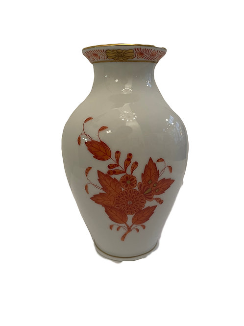 Herend Porzellan apponyi orange Vase