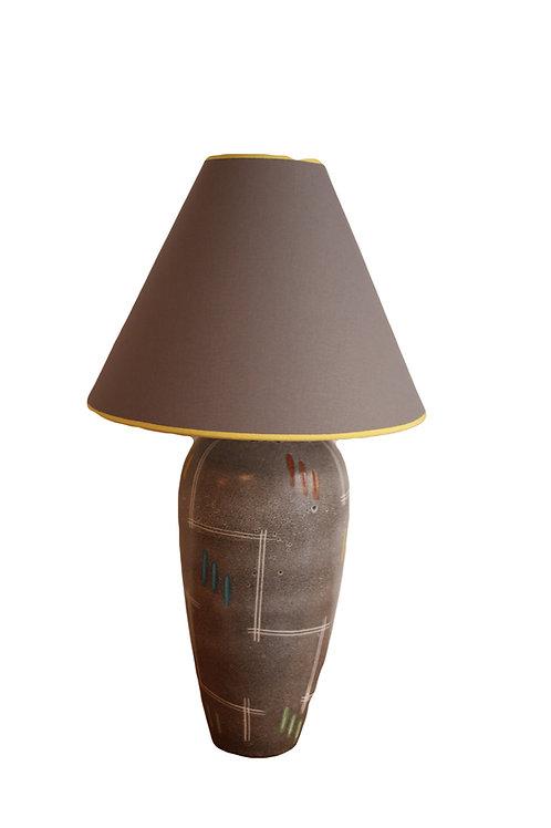 Wunderschöne Vintage Keramik Lampe