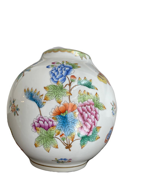 """Seltene alte Herend Porzellan Vase """"Victoria"""""""