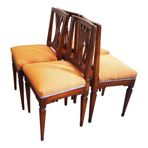 4 Stk.Orig. Josephinische Stühle