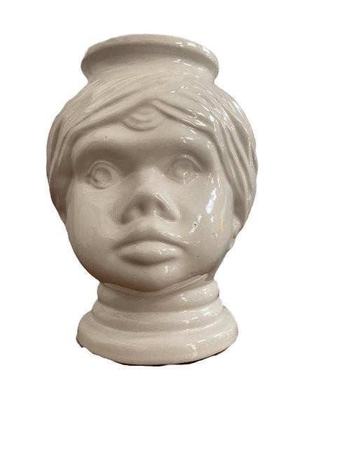 Glas Kopfvase Blumentopf Scheurich
