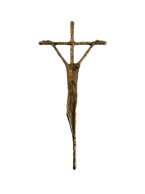 Bronze Kruzifix von Erwin Huber