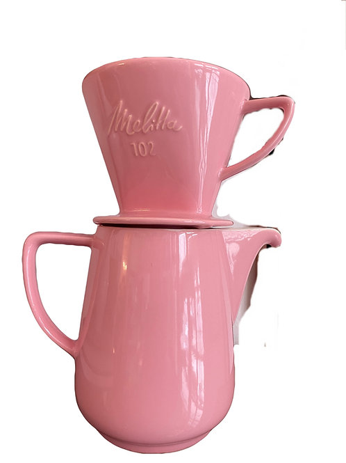 Melitta Kaffeekanne und Filter 102