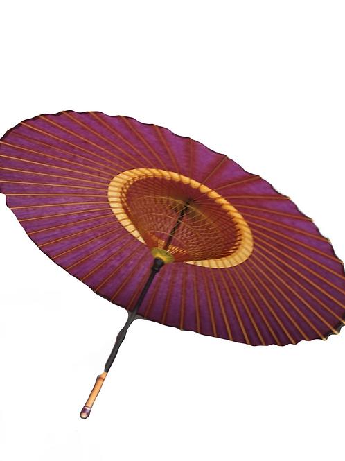 Echter großer japanischer Sonnenschirm
