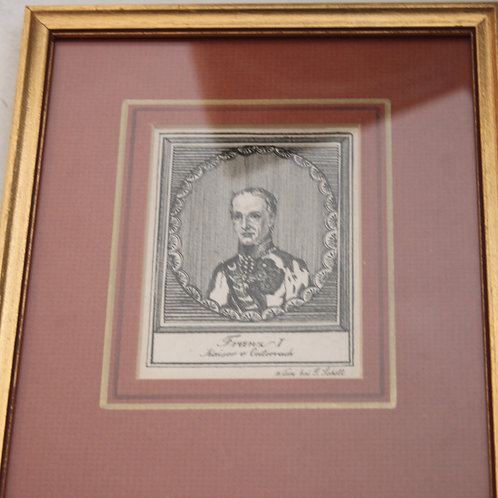 Kaiser Franz I. Orig.  Kupferstich
