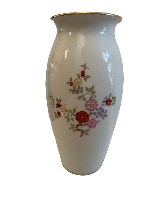 Augarten Porzellan Vase Bunte Chinoiserie