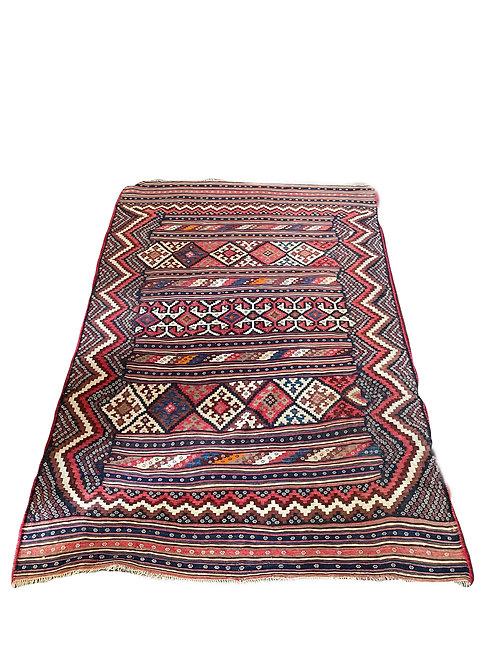 Schöner alter Kelim Teppich