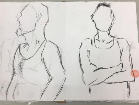 Figure drawing April 2019