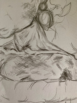 20 minute figure drawing study