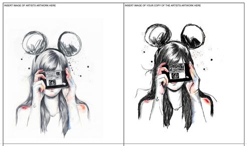 Grade 8 Visual Analysis of chosen artist